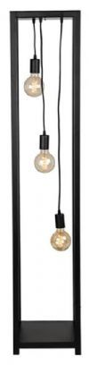 LABEL51 Vloerlamp 'Dangle', Metaal, 3 lamps, kleur Zwart